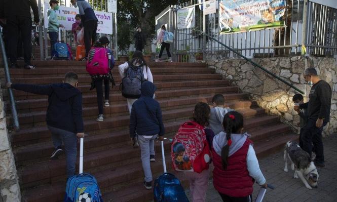بحث إسرائيلي: القاصرون العرب الأكثر  تضررا بجائحة كورونا