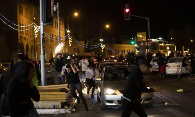 إصابات واعتقالات جراء مواجهات مع جيش الاحتلال في القدس