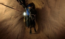 الجيش المصريّ يعلن تدمير 5 أنفاق على الحدود مع غزة
