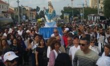 """للسنة الثانية في حيفا: مسيرة """"طلعة العذراء"""" بالسيارات"""