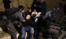 إصابة 4 مقدسيين باعتداءات الاحتلال قرب باب العامود