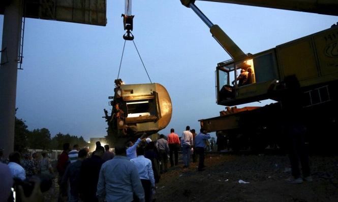 تغيير مسار خطوط السكك الحديدية شماليّ مصر غداة انقلاب القطار بالقليوبيّة