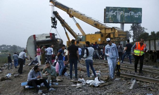 #مش_قد_الشيله_غور: غضب على السيسي إثر حوادث انقلاب القطارات