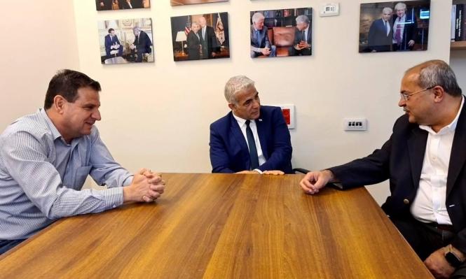 """دعم المشتركة والموحدة لمقترح """"يش عتيد"""": هل هو بداية لتشكيل حكومة مناوئة لنتنياهو؟"""