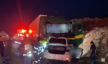 مصرع شخصين بحادث طرق بوادي عربة وإصابة شاب في الناصرة