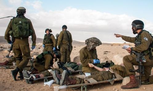 مناورة إسرائيلية تحاكي حربا شاملة وإجلاء سكان من بيوتهم