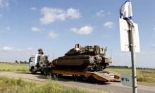 انقلاب شاحنة للجيش الإسرائيلي في حقل ألغام جنوبي لبنان