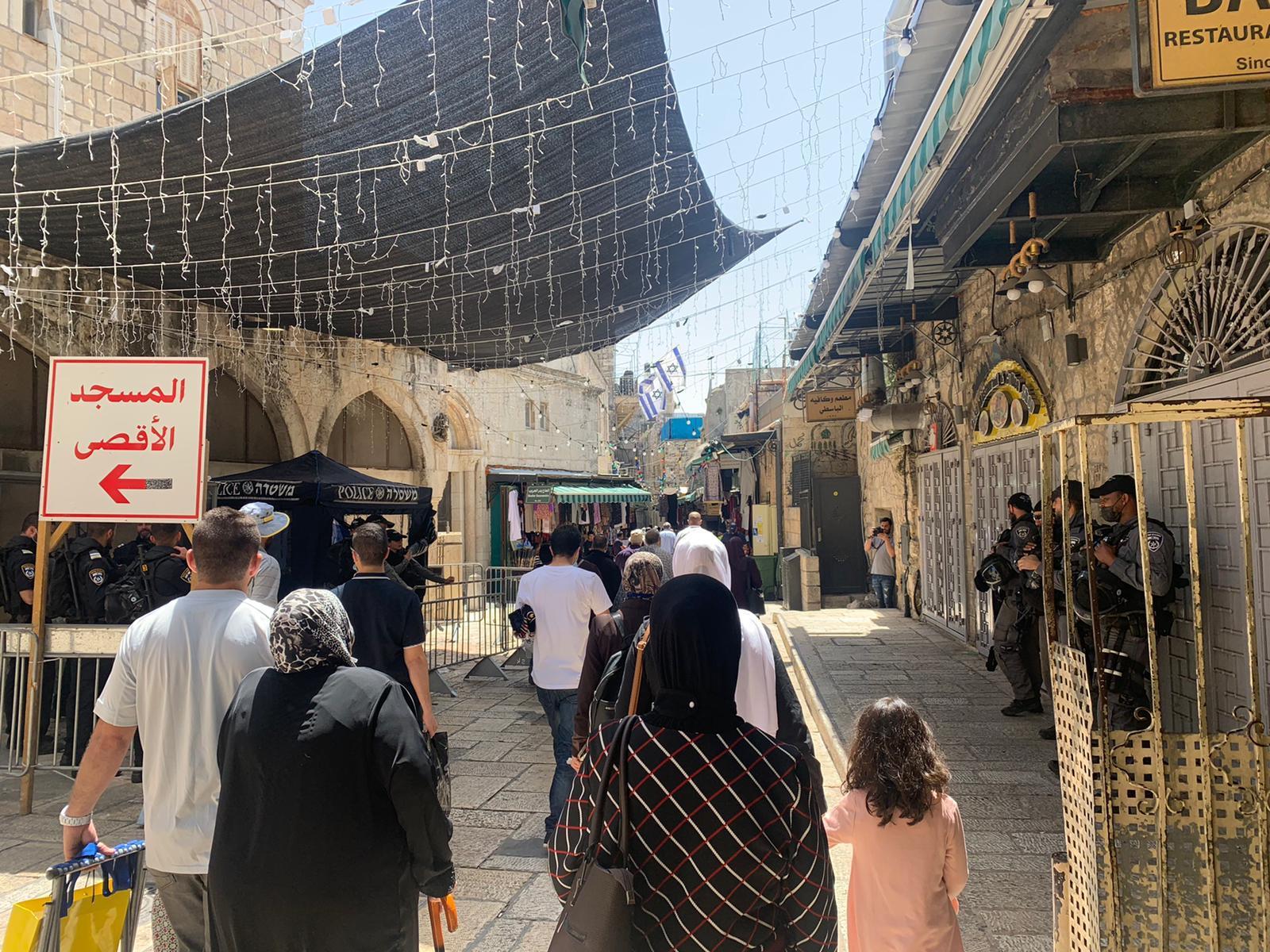 الاحتلال يحوّل القدس المحتلة إلى ثكنة عسكرية