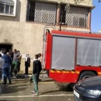 مصرع أم وأطفالها الثلاثة إثر حريق منزل في نابلس