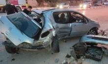 الخليل: مصرع شقيقتين و4 إصابات خطيرة في حادث طرق