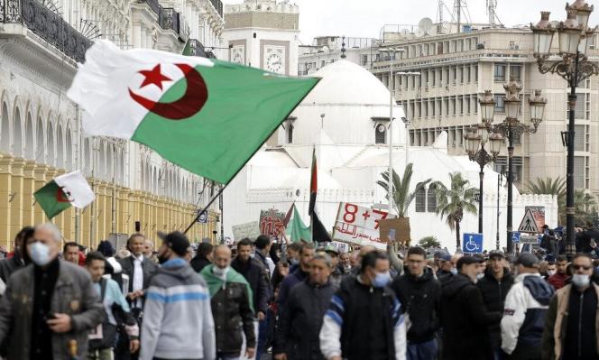 """الجزائر: العاصمة تتظاهر في """"الجمعة 114"""" للحراك الاحتجاجيّ"""