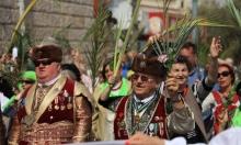 الكنائس الشرقية تحتفل بأحد الشعانين