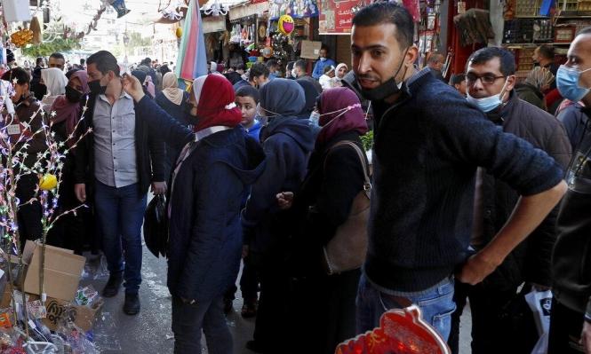 12 وفاة و1038 إصابة جديدة بكورونا بغزة