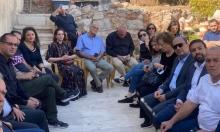 وفد من التجمع يزور القدس ويلتقي أهالي الشيخ جراح والبستان