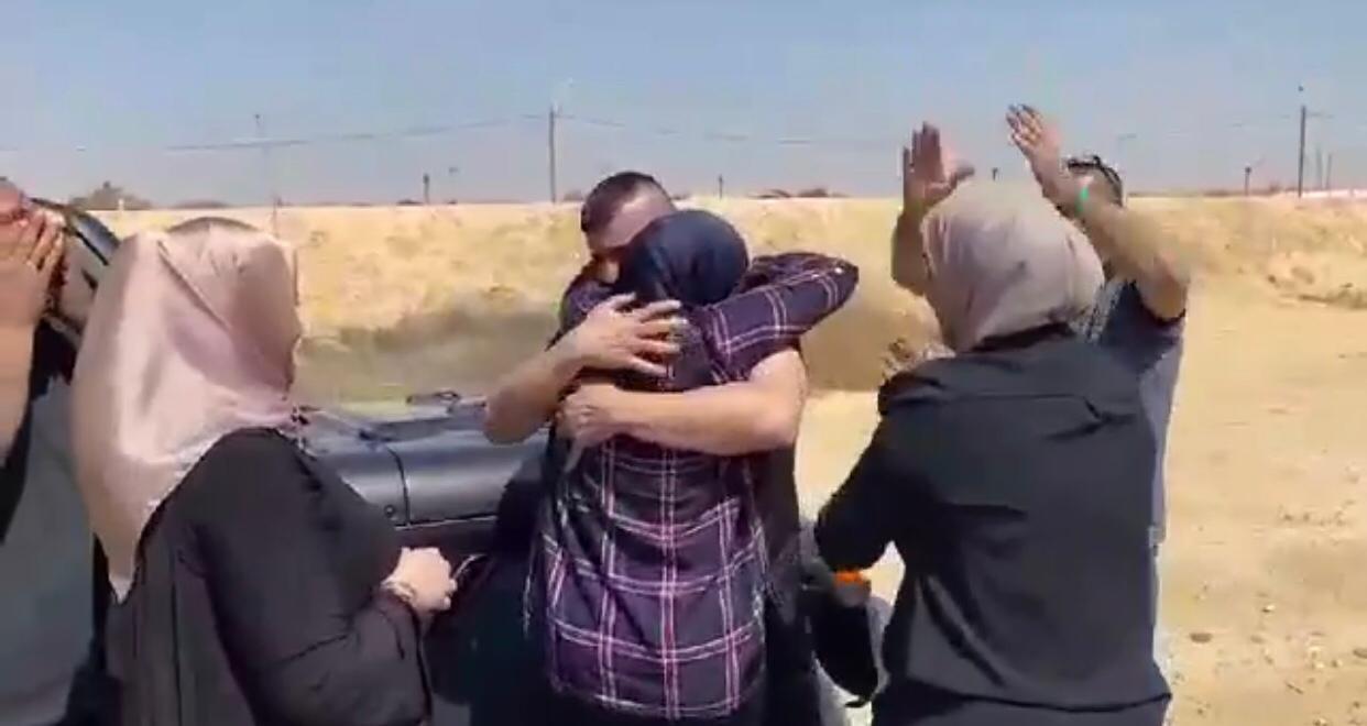 أم الفحم تستقبل الأسير محمد محاجنة