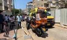 إصابة خطيرة لشاب في حادث عمل وسط البلاد