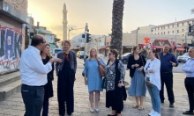 دبلوماسيون أوروبيون يطلعون على أوضاع العرب في يافا