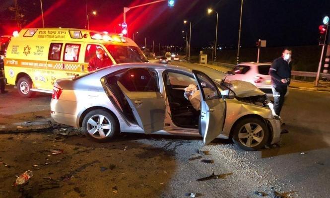 9 إصابات بينها خطيرة إثر حادث طرق قرب رهط