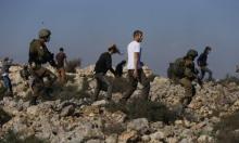 نابلس: مستوطنون حرقوا أراضي... فاعتقل الاحتلال فلسطينيين