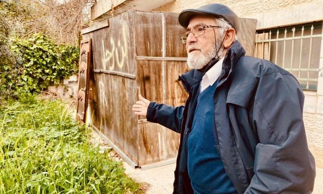 نبيل الكرد أحد أصحاب البيوت المهددة بالإخلاء لصالح المستوطنين في الشيخ جراح