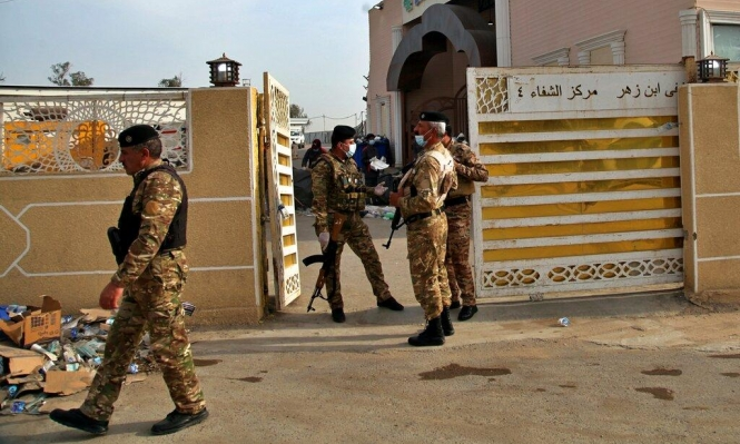 هجوم صاروخي على قاعدة تضم جنودا أميركيين في العراق