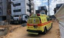 إصابة خطيرة لشاب سقط من علو في ورشة بناء بالناصرة