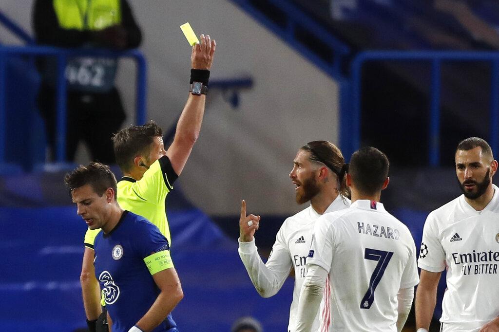 تشيلسي يطيح بريال مدريد خارج دوري الأبطال