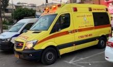 طمرة: إصابة خطيرة لطفلة في حادث دهس
