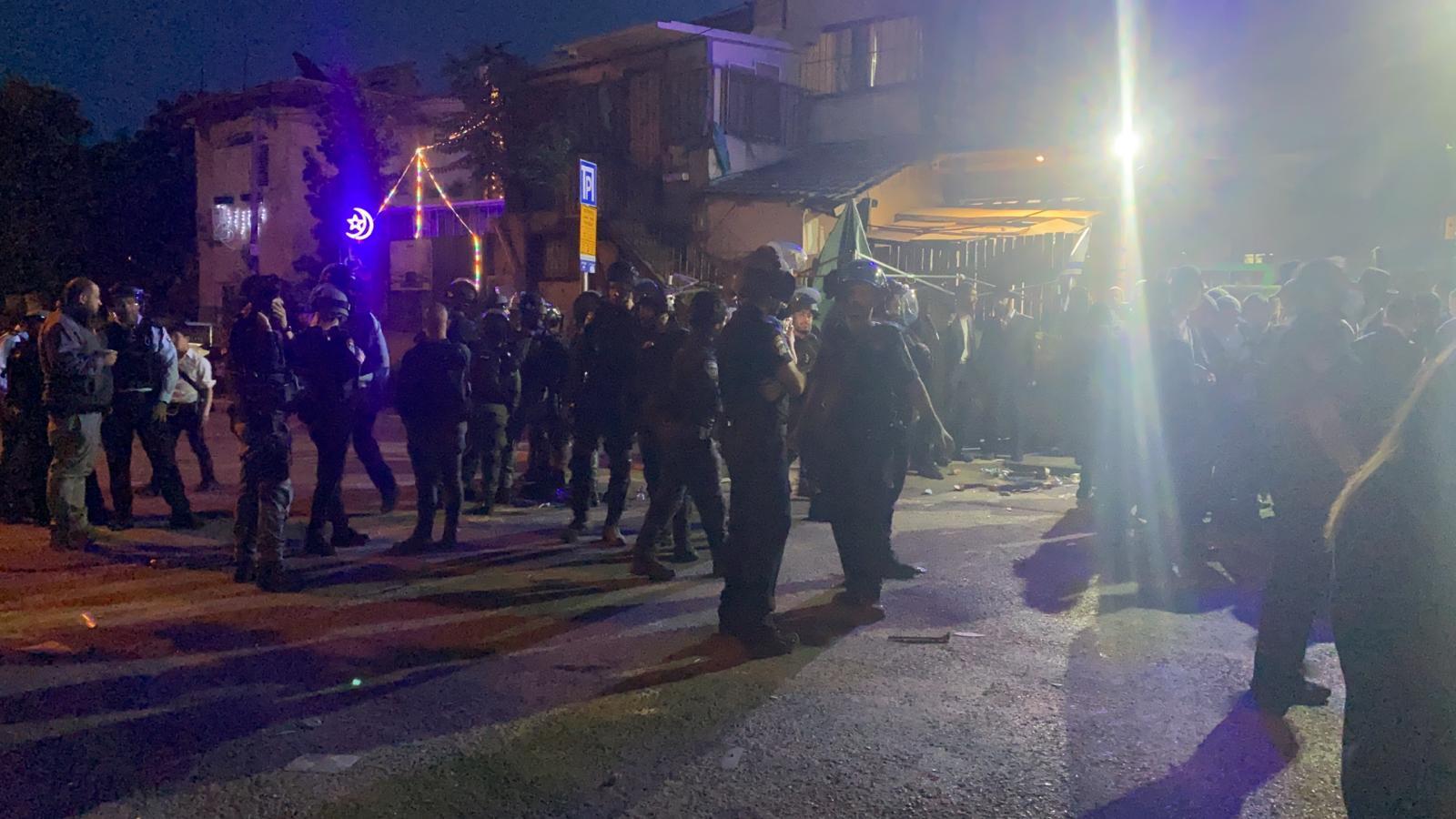 اعتقالات في اعتداء الاحتلال على المعتصمين في الشيخ جرّاح