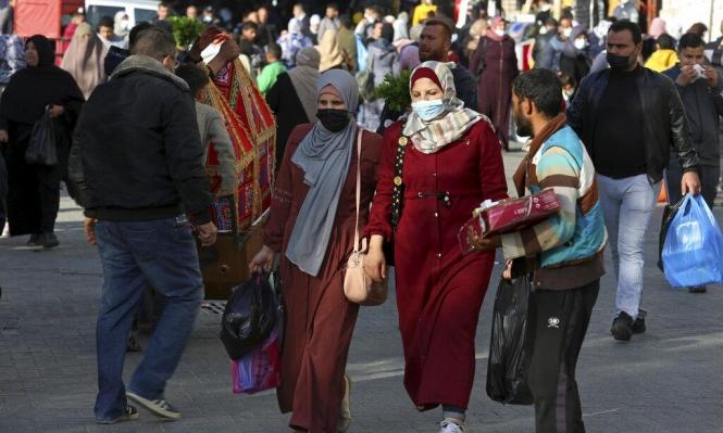 غزة: 3 وفيات و439 إصابة جديدة وقرار بتخفيف قيود كورونا