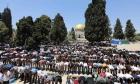 70 ألفًا صلّوا الجمعة في الأقصى.. رغم التعزيزات الأمنية المكثّفة