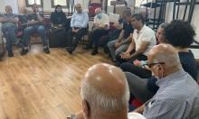 يافا: اجتماع لقيادات ومندوبي المؤسسات وإقرار مرجعية تتابع ملف السكن