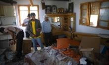 الاحتلال يقتحم ترمسعيا ويرسم خريطة منزل شلبي تمهيدا لهدمه