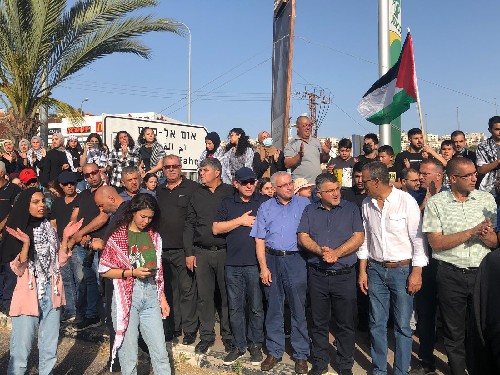 مظاهرات في بلدات عربية تلتحم مع القدس المحتلة