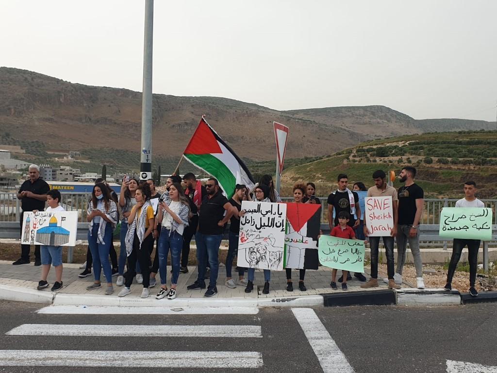 نصرة للقدس والأقصى: مظاهرات غاضبة واعتقالات في حيفا والناصرة