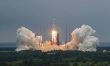 تفكك الصاروخ الفضائي الصيني فوق المحيط الهندي