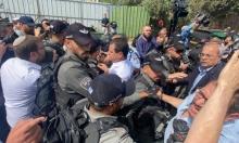 الشيخ جراح: قوات الاحتلال تعتقل 3 متظاهرين والمحتجون يتصدون للمستوطنين