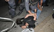 عدالة: الشرطة تقمع بوحشية احتجاجات الفلسطينيين في القدس وحيفا والناصرة