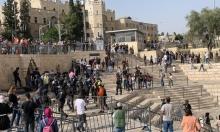 باب العامود: إصابات واعتقالات خلال اعتداء شرطة الاحتلال على متظاهرين
