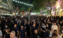 46 معتقلا على الأقل خلال مظاهرات حاشدة في البلدات العربيّة دعمًا للقدس