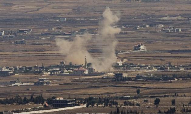 جريح من حزب الله بقصف إسرائيلي قرب بلدة حضر السورية