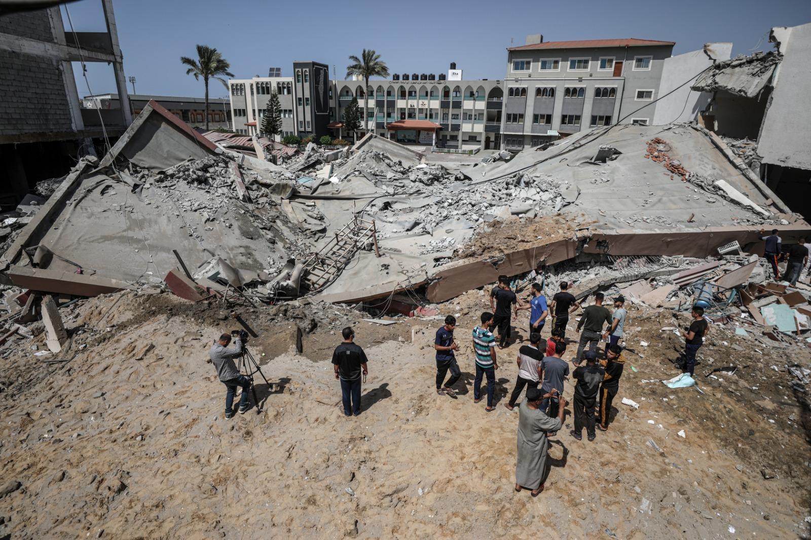 28 شهيدا في غزة.. الاحتلال يستهدف منازل ومدارس ومنشآت مدنية