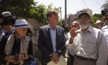 دبلوماسيون أوروبيون يزورون الشيخ جراح