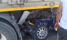 إصابتان خطيرتان في حادث طرق قرب الخضيرة