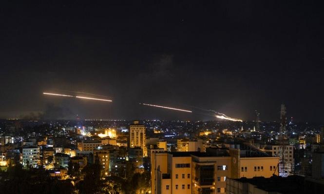 غارات على غزة والمقاومة تقصف ما بعد تل أبيب