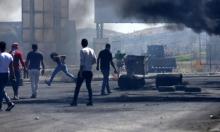 10 إصابات إحداها خطيرة خلال مواجهات مع الاحتلال قرب نابلس