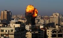 تجدّد الغارات الإسرائيلية على قطاع غزّة