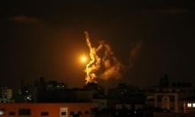 العدوان على غزة: غارات ليلية مكثفة...