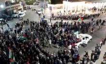 نصرة للقدس والأقصى: مظاهرة في كفر كنا وإضاءة شعلة العودة بالناصرة