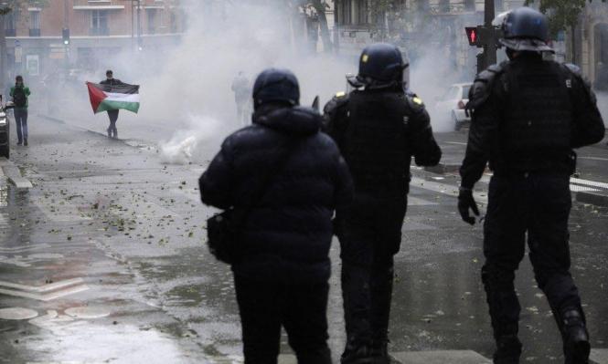 مظاهرات تضامنيّة مع الفلسطينيين في مختلف مدن العالم